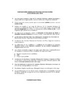 DISPOSICIONES GENERALES PROCESO DE ELECCIONES 2016